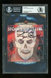 Stone Cold Steve Austin BGS/BAS Certified Autograph Signed Auto CD Cover Slabbed