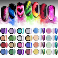 Mirror Powder Glitter  Nail Art Chrome Pigment 9colors BORN PRETTY
