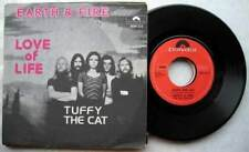 """7"""" 45 EARTH & FIRE LOVE OF LIFE TUFFY THE CAT BELGIUM"""
