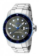 Invicta Pro Diver Men's Black Bezel Grey Dial Stainless Steel Watch 15077