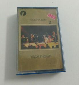 DEEP PURPLE - MADE IN JAPAN 2 - MC K7 MUSICASSETTA buone condizioni 1973  EMI