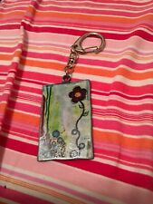 New Art Metal Gratitude Key Chain life Is Beautiful Gift