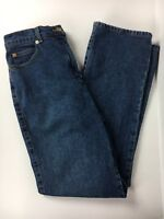 St. John Sport by Marie Gray Womens Straight Leg High Rise Blue Jeans Size 6