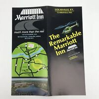 Vintage Hotel Brochure Marriott Inn Travel Advertising Louisville Kentucky KY