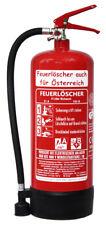 6L Feuerlöscher auch für Österreich Schaum AB DIN EN 3 GS Haus Hof Hotel Wa ...