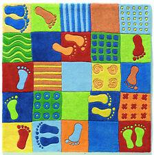 Alfombra Pisadas multicolor de HABA (120x120cm)