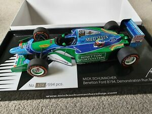 Minichamps Benetton B194 Mick Schumacher special edition 1/18