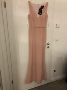 Kleid Terani Couture Original Neu! Abendkleid  Gr.34 rose rosa