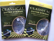 2 x Acoustic Classical Guitar Strings Nylon