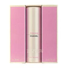 Chanel CHANCE  EAU TENDRE (3x20ml) Twist & Spray Eau De Toilette Immaculate