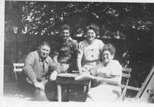 PHoto J Durlin de Montargis en 1953 à Bourrée Montrichard Val de Cher en famille