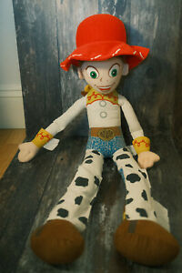 """VINTAGE JESSIE COWGIRL TOY STORY LARGE 31"""" SOFT PLUSH DOLL"""
