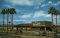 Bimbo's Drive Inn Restaurant Scottsdale Arizona ~ cars 1950-60s postcard