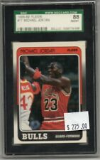 Michael Jordan 1988-89 Fleer #17 Bulls SGC 88