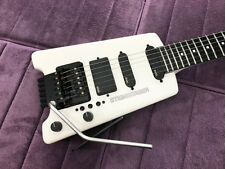 Mint Original USA White Steinberger GL4TA TransTrem Guitar - Set-Up  by Babicz!