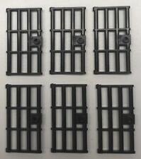 Lego 1x Door Porte 1x4x6 Grille Bar 3 Panes 30179c05 Black//Noir