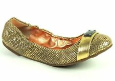 Marc By Marc Jacobs R12 Women's Ballet Flats Gold Leather Snake Print Size 7 B