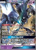 Necrozma GX 63/147 SM Burning Shadows Ultra Rare Holo Pokemon Card NEAR MINT TCG
