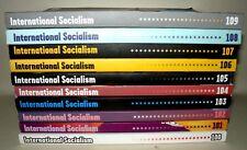 International Socialism, Volumes 100-109, 10 Paperback Books 2003-2006