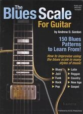 The Blues Scale for Guitar TAB Music Book/CD 150 Blues Patterns to Learn From