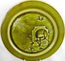 More details for antique choisy le roi h.boulanger & cie  aesthetic series majolica  plate c.1880