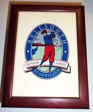 Vintage - Wood Golf Ball Case Holder - BELLSOUTH SENIOR CLASSIC AT OPRYLAND READ
