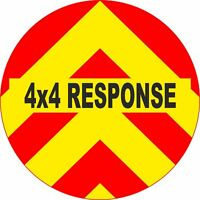 4x4 Spare Wheel Cover 4 x 4 Camper Graphic Sticker 4x4 Response AA193