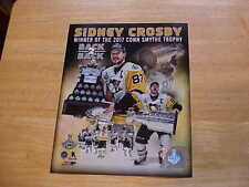 """Sidney Crosby """"BACK 2 BACK"""" Officially LICENSED 8X10 Photo FREE SHIPPING 3/more"""