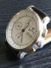 raro orologio vintage chrono automatico ETA Valjoux 7750 cronografo uomo 40MM