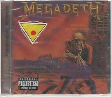 MEGADETH PEACE SELLS...BUT WHO'S BUYING? CD F.C. CAPITOL SIGILLATO!!!
