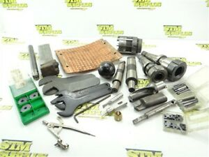 ASSORTED LOT OF MACHINIST GOODIES & TOOLS