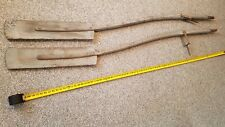 """1 of a kind Rare Rowing Oars Primitive Matching  Oars 82"""" Boat Wood Curved Shaft"""