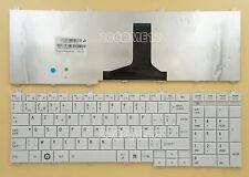 for Toshiba Satellite L660D L665D L750 L750D L755 Keyboard Belgian Clavier White