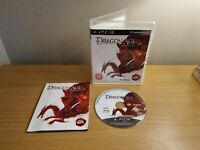 PLAYSTATION 3 - PS3 - DRAGON AGE ORIGINS - COMPLETE WITH MANUAL - FREE P&P