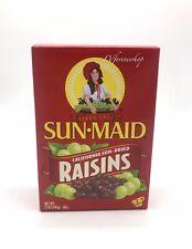 Sun Maid Natural California Sun Dried Raisins Net 12 OZ (340g)-FREE SHIPPING