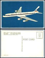 Airplane / Plane - Delta Air Lines DC-8 Fanjet Postcard -N25