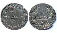 1/2 Batzen 1799 Helvetian Républic. Suisse/Schweiz. Billon