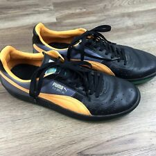 PUMA GV Special Shoes Sneakers 343569-74 Black Green Orange Mens Size 11.5
