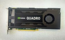 HP NVIDIA QUADRO K4000 3GB GDDR5 192-bit 768 CUDA Cores PCI-E 2.0 Graphics Card