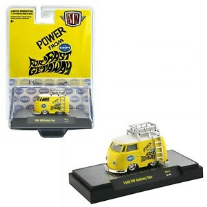 "M2 MACHINES HS11 1:64 HOBBY EXCLUSIVE ""EMPI"" 1960 VOLKSWAGEN SHORTY VAN / BUS"