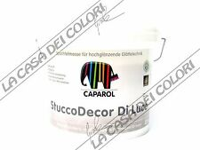 CAPAROL - STUCCODECOR DI LUCE - BASE NEUTRA - 2,5 lt - STUCCO SINTETICO LUCIDO