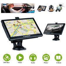 """7"""" GPS Voiture Navigaion Navigateur Europe Carte Mise à jour Gratuit 8Go 128Mo"""