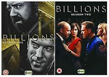 BILLIONS SEASON 1-2 COMPLETE DVD American Financial Drama Uk Rele New Sealed R2