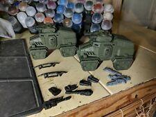 Warhammer 40k Astra Militarum 2x Taurox Prime