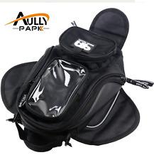 Universal Magnetic Motorcycle MotorBike Travel Saddle bag Oil Fuel Tank Phone NE