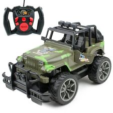 2WD RC Monster Truck Off-Road Vehicle 2.4G Remote Control Buggy Crawler Car Jeep