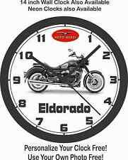 2016 MOTO GUZZI ELDORADO MOTORCYCLE WALL CLOCK-FREE USA SHIP!