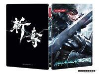 Metal Gear Rising Revengeance Collector's Edition Steelbook Case - Brand New