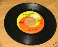 BEATLES HELLO GOODBYE CAPITOL RECORDS 45 RPM