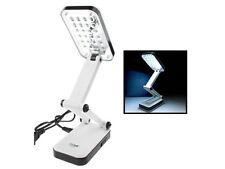 24 LED Mobile Leselampe Tischlampe Büro Arbeits Lampe Licht Leuchte Akku  Netz w